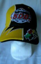 Nascar Daytona 500 Racing Hat Cap Black Yellow Embroidered Race Car 2005
