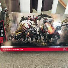 Transformers Age Of Extinction Dinobots Unleashed 5 Pack Platinum Edition NIB