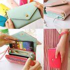 Women Lady Leather Clutch Wallet Long PU Card Holder Purse Handbag NEW