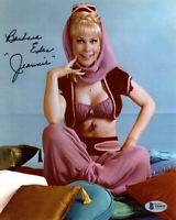 BARBARA EDEN SIGNED AUTOGRAPHED 8x10 PHOTO I DREAM OF JEANNIE ICON BECKETT BAS