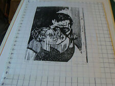 vintage Original Wood Block Print: Lilly M. Urbach FATHER & SON, 41 of 175