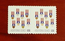 #5174 (15 c Forever) -2pcs - Additional Ounce Stamp Uncle Sam's Hat 2017 Mint NH