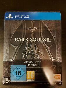 Dark Souls 3 PS4 Apocalypse Edition Steelbook
