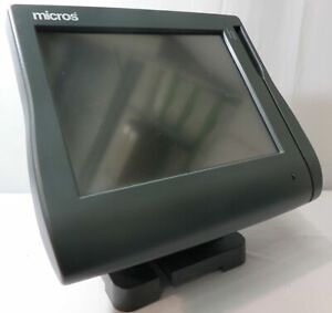 Genuine Micros Workstation 4 LX PoS Touchscreen Terminal 400714-001