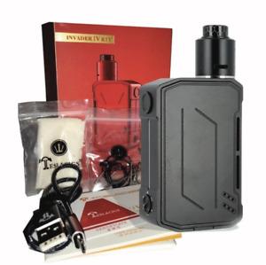 Tesla Invader IV 280W Kit MOD + RDA Vape Kit Brand New