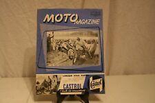 ANCIENNE REVUE  MOTO MAGAZINE DE 1957.
