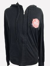 I Heart Radio Hoodie Womens Size Small Music Festival 2015 Full Zip Black (M