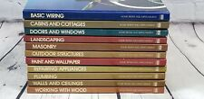 1970's -1980's Time Life Home Repair and Improvement Hardcover Illustrated Books