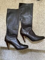 Cole Haan NikeAir Womens Leather Boots 10b