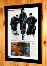 Conflict Global Terror Storm Very Rare Small Poster /Old Ad Page Framed PS2 Xbox