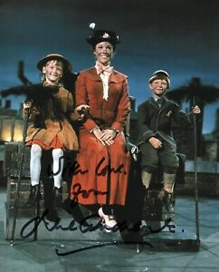 Julie Andrews Mary Poppins Autograph Signed Photo Walt Disney Cinema Authentic