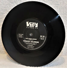 """TRACEY ULLMAN THEY DON'T KNOW / The B Side 1983 7"""" VINYL SINGLE STIFF BUY 180 EX"""
