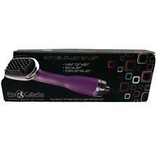 Pro-Cabello Purple 3 in 1 Blower Brush-Hair Dryer, Styler & Detangler Open Box