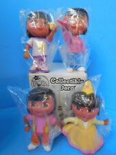 """Dora the Explorer Collectible Doll Set of 4 Fisher Price 5"""""""