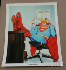 You Are My Hero Limited Edition Screen Print Poster xx/50 Michael Loeb