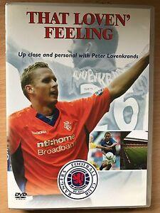 Rangers FC The Loven' Feeling DVD Football Club Peter Lovenkrands Player