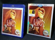 The Lion King Blu-ray + DVD + Digital Disney Signature NEW w Slipcover AS SEEN