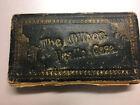 Antique Victorian Needle Case Kirby Beard Rare 4 Fold
