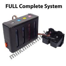 Complete Ink System CISS for HP 60 XL Deskjet D5560 Envy 110e 120 D110a D410a