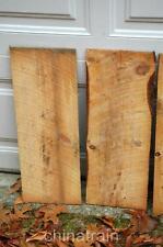 Rustic Barn Wood Wooden Cedar? Shingles Live Edge Folk Arts Crafts Signs 8x24