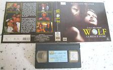 WOLF La belva è fuori (1994) VHS ORIGINALE 1ª EDIZIONE RENTAL 1995