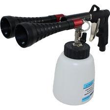 Druckluft Reinigungspistole Doppel-Trichter TWISTER Cleaning Gun KFZ Reiniger