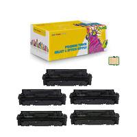 Set + BK Compatible 055 BK CMY With Chip Toner Cartridge for Canon LBP664Cdw