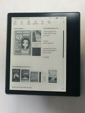 Amazon Kindle Oasis 2 9th Generation 2017 E-Reader CW24WI 8GB S17 -Cracled Glass