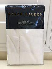 RALPH LAUREN STANDARD SHAM Luxury Home TUXEDO PARK WHITE 1x Cotton $185 New
