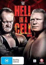 WWE: Hell in a Cell 2015 NEW R4 DVD
