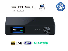 SMSL M400 DSD DAC MQA - BLUETOOTH - DIGITAL WANDLER - INCL. RC - HIGHEND - TOP