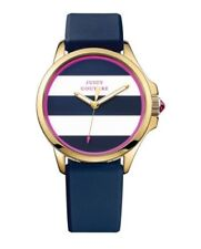 Juicy Couture Women's 1901222 Jetsetter Blue Silicone Watch