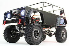 All Metal FRAME BODY ROLL CAGE For RC Rock Crawler w/ Metal Body Panels BLACK