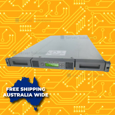 HPe StoreEver 1/8 G2 LTO-4 Ultrium 1760 SAS Tape Autoloader (AK377B)