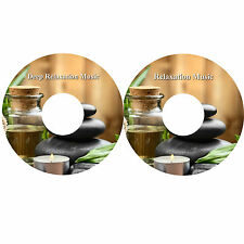 Deep Relaxation Music On 2 CDs Massage Spa Healing Stress Relief Sleep Aid
