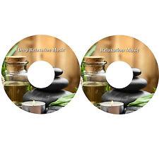 Deep Relaxation Music On 2 CDs Massage Spa Healing Stress Relief Sleep Aid