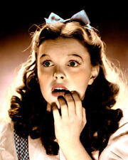"JUDY GARLAND WIZARD OF OZ 1939 HOLLYWOOD ACTRESS 4x6"" HAND COLOR TINTED PHOTO"