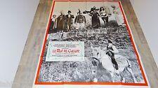 LE ROI DE COEUR  !  de broca  2 affiches cinema model A + B 1966