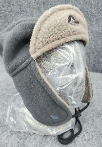 Lowe Alpine Trapper Hat Ear Flaps Warm Fleece Lined Outdoor Hunting Cap Adult