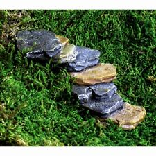 Miniature Garden Rock Stair Case Steps Dollhouse Fairy GO 17265  reversible