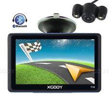 XGODY 8GB 7'' Portable GPS Navigation SAT nav Bluetooth+Wired Reversing Camera