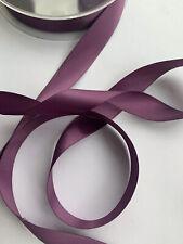 2 Metres 16mm Amethyst Purple Satin Ribbon Craft Wedding Cake Bows Baby