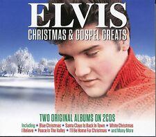 ELVIS CHRISTMAS & GOSPEL GREATS - 2 CD BOX SET, WHITE XMAS, SILENT NIGHT & MORE