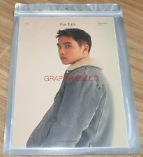 EXO For Life WINTER SPECIAL SMTOWN COEX Artium SUM GOODS DO D.O. A4 PHOTO NEW