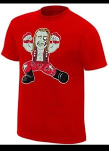 WWE WWF Shawn Michaels HBZ Zombie Shirt 2XL HBK Heartbreak Kid