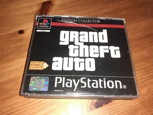 JEU SONY PLAYSTATION 1 GTA GRAND THEFT AUTO EDITION COLLECTOR