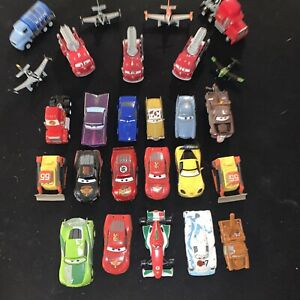 Mixed Lot of 26 Disney Pixar Cars Movie Diecast Vehicle Toys