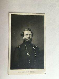 CDV Photo Civil War Reproduction Major General G.H.Thomas - R.R. Landon Agent