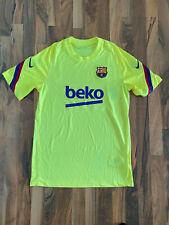 Nike FC Barcelona Fussball Trainingsshirt | Gelb | Größe M | NEU