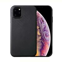 Apple iPhone Handy Hülle Silikon Case Schutzhülle Cover Bumper Etui Carbonfarben